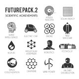 Future  icons set. Stock Photography