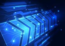 Future illustration de fond de technologie de vitesse abstraite de vecteur illustration de vecteur