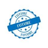 Future illustration de timbre illustration stock