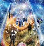 Future imagination illustration stock