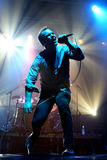 Future Islands (synthpop electronic dance band) performs at Razzmatazz stage Stock Photography