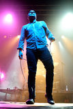 Future Islands (synthpop electronic dance band) performs at Razzmatazz stage Stock Photo
