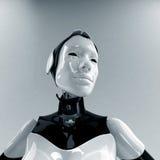 Future life. Cyborg woman of future. Ideal wife Stock Photo