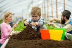Future life. future life growing. future life concept. future life of little boy farmer. stock image