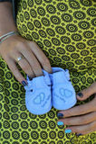 Future mère Photographie stock libre de droits
