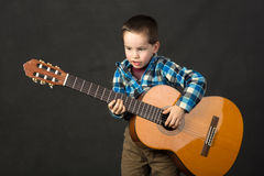 Future musician Stock Photography