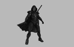 Future ninja. 3d render of a future ninja Royalty Free Stock Photos