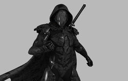 Future ninja Stock Images
