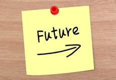 Future Note Stock Image