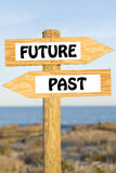 Future and past. Stock Image