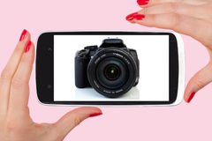 The future of photography. royalty free stock image
