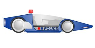 Future police Royalty Free Stock Images