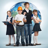 Future profession Stock Images