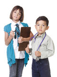 Future professionals. Stock Photos