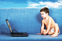 Future Programmer Royalty Free Stock Photos