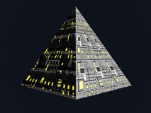 Future pyramide Photographie stock libre de droits