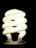 Future Saver. A closeup of an energy saver compact flourescent light bulb Royalty Free Stock Image