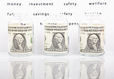 Future savings and investments Stock Photos