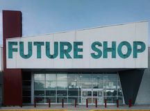 Future Shop Closure. Best Buy's acquisition of Canada's Future Shop has led to widespread closures Stock Photo