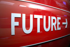 Future sign. Royalty Free Stock Images