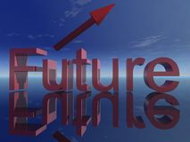 Future sign Royalty Free Stock Image