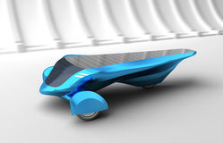 Future Solar Concept Car. Stock Photo