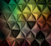 Future space. Abstract tetrahedron background. Usefull for business cards and web Royalty Free Stock Photo