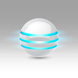 Future sphere Royalty Free Stock Images