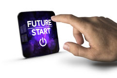 The Future Starts Now Royalty Free Stock Images
