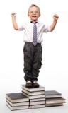 Future successful businessmen Stock Photos