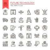 Future technologie illustration stock