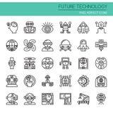 Future technologie illustration de vecteur