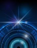 Future technologie digitale illustration libre de droits