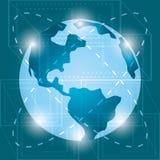 Future technologie et connexion numérique vitual illustration libre de droits