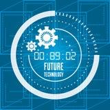 Future technologie et connexion numérique vitual illustration stock