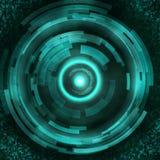 Future technologie, fond de concept de sécurité illustration de vecteur