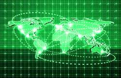 future technologie globale Photo libre de droits