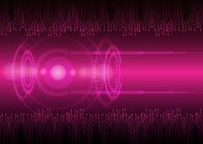 Future technologie numérique abstraite Fond de concept illustration de vecteur