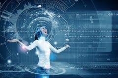Future technologies Stock Photography