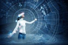 Future technologies Stock Photos