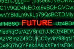 Future technology Royalty Free Stock Images