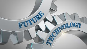 Future technology concept royalty free stock images