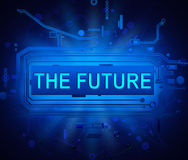 The future of technology. Royalty Free Stock Photo