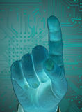 Future technology Stock Images
