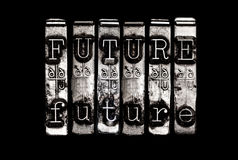 Future time concept Stock Photography