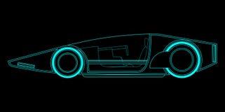 Future vehicle. Creative design of future vehicle Stock Photo