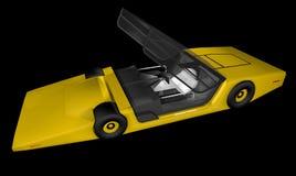 Future voiture de sport illustration de vecteur