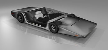 Future voiture de sport illustration libre de droits