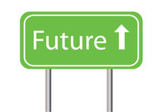 Future on white background Royalty Free Stock Photography