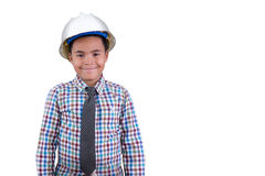Future young African American engineer Royalty Free Stock Images